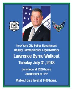 Lawrence Byrne Walkout